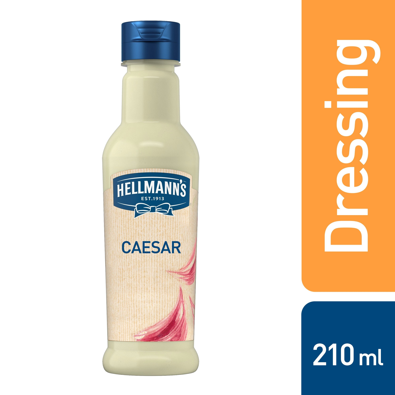 Hellmann´s Caesar dresink s uzeným česnekem 210 ml -
