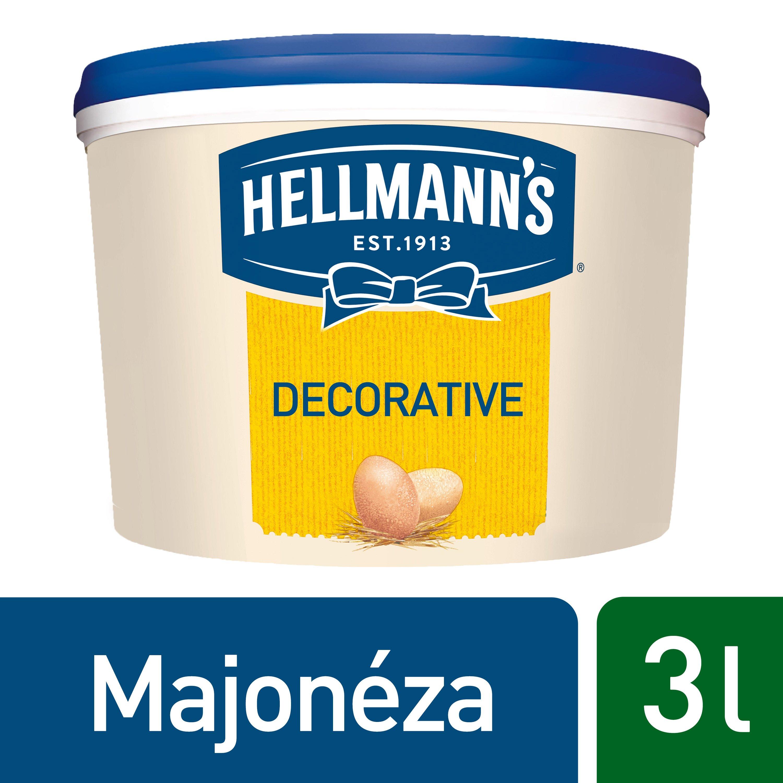 Hellmann´s Decorative majonéza 3l -
