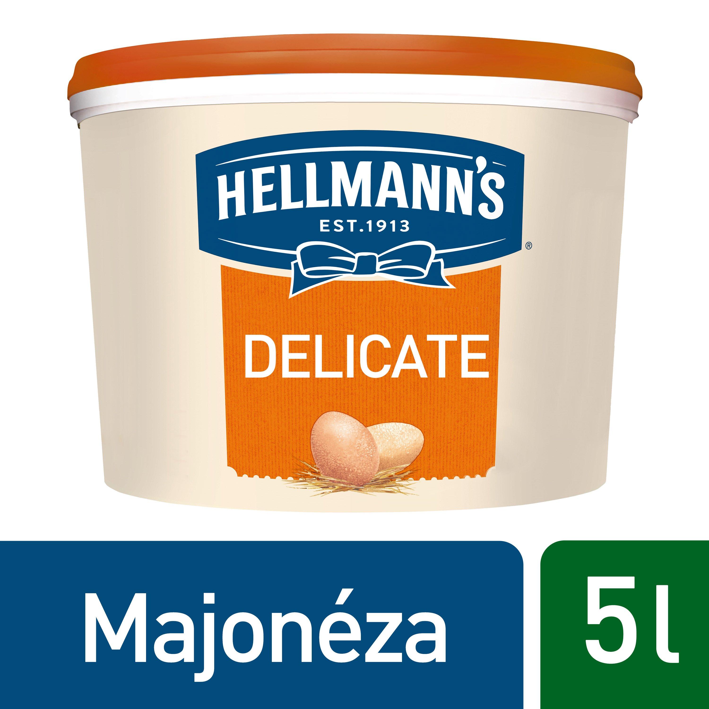 Hellmann´s Delicate majonéza 5 l -