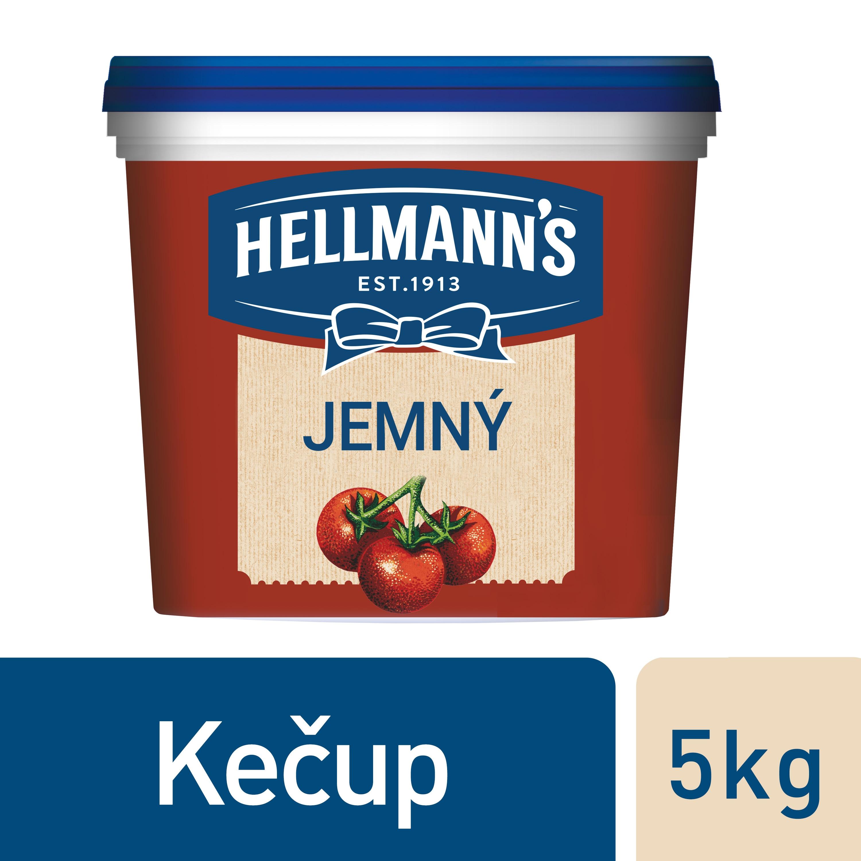 Hellmann's Kečup 5 kg - Hellmann´s Kečup, z těch nejkvalitnějších, udržitelně pěstovaných rajčat.