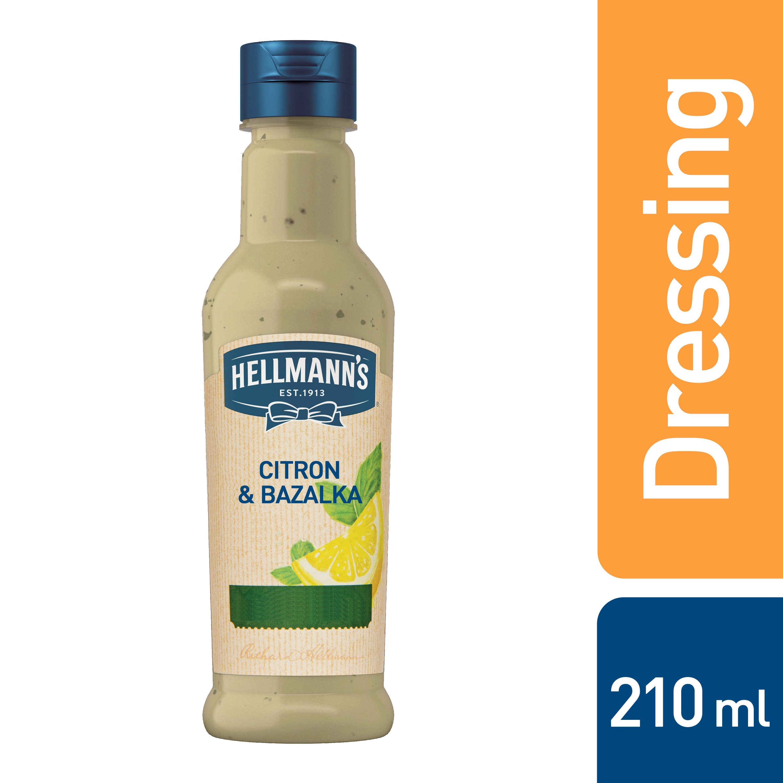 HELLMANN´S Zálivka Citron & Bazalka 210 ml -