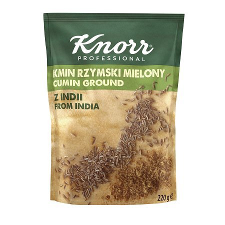 Knorr Římský kmín mletý z Indie 0,22 kg -