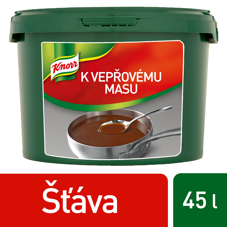 Knorr Šťáva k vepřovému masu 4,5 kg -