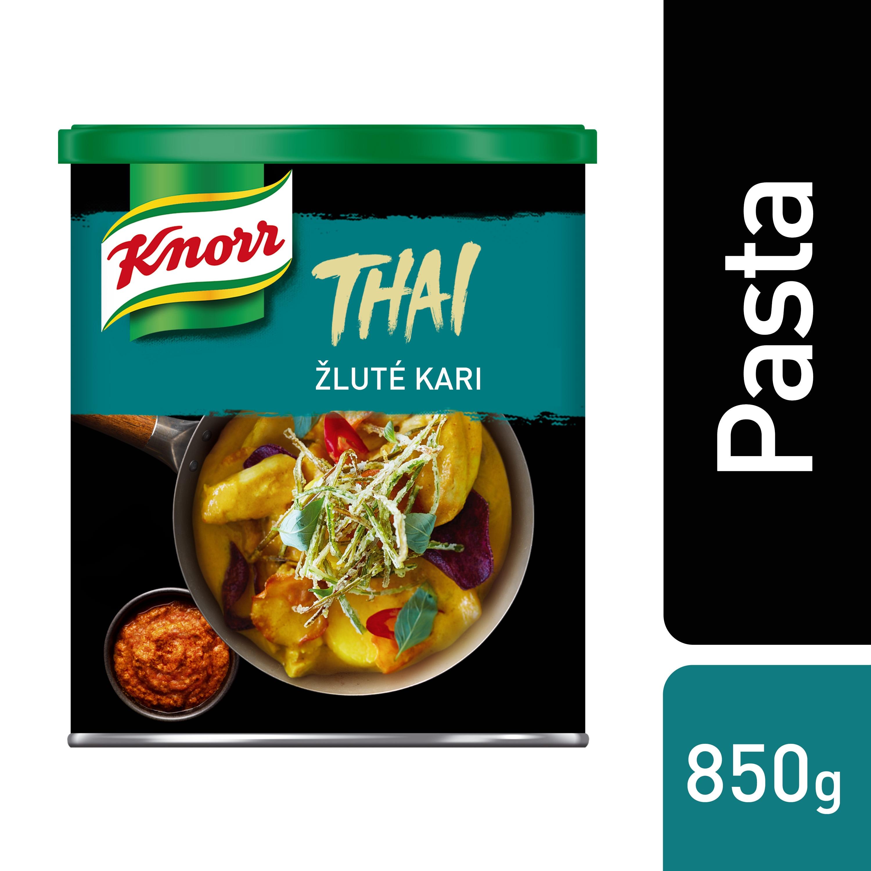 Knorr Žlutá kari pasta 850 g