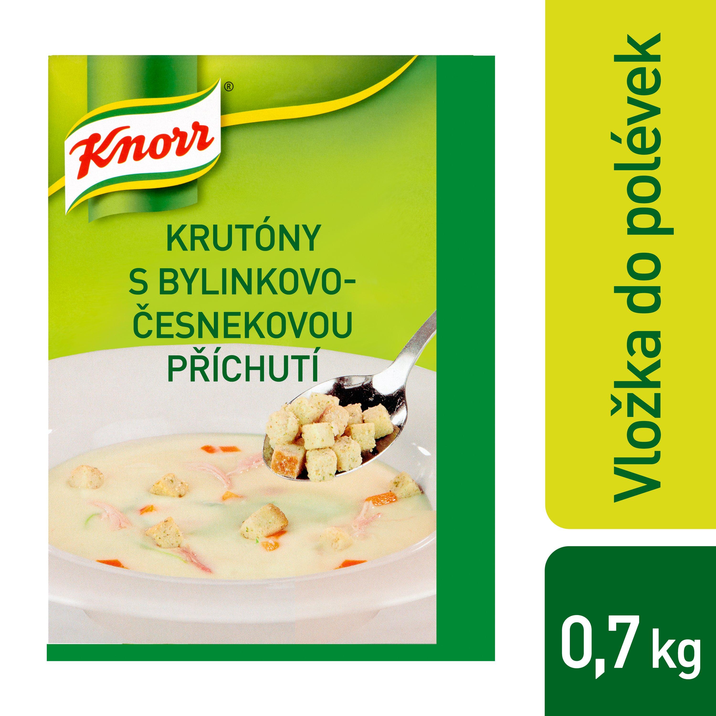 Knorr Krutony s česnekovo-bylinkovou příchutí 0,7 kg -