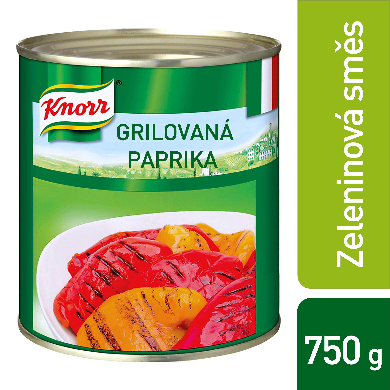 Knorr Peperoni Grigliati - grilovaná paprika 0,75 kg -