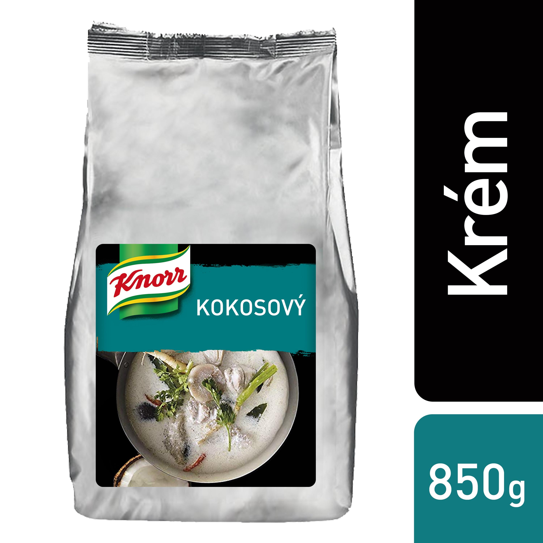 Knorr Sušený kokosový krém 1 kg - Autentická chuť slaných i sladkých pokrmů.
